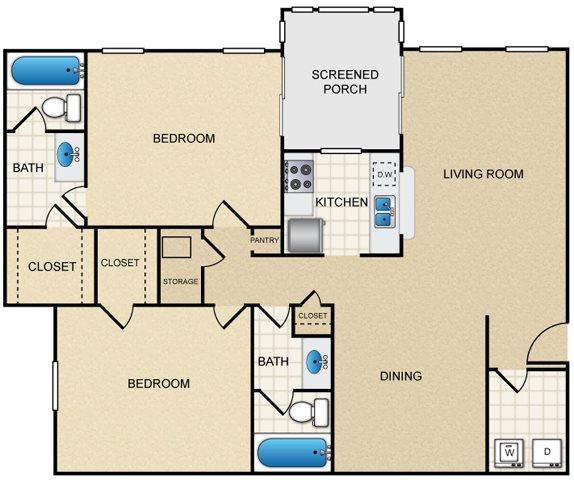 B3 Floor Plan 5