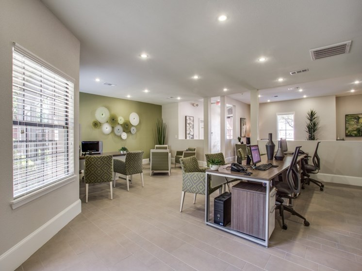 Community Leasing Office at The Giovanna, Plano, TX