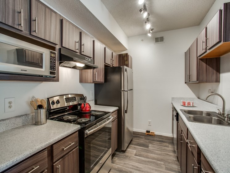 Fully Equipped kitchen at The Giovanna, Texas