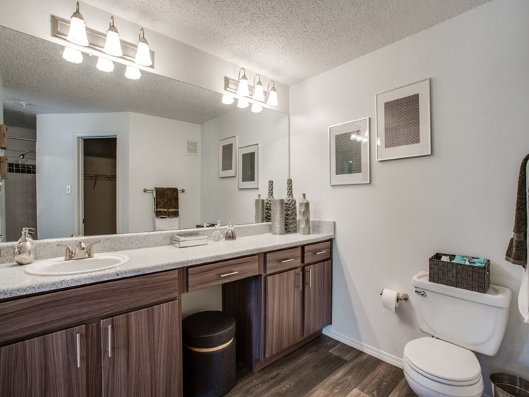 Spacious Bathrooms at The Gio, Plano