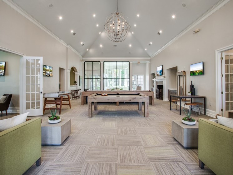 Clubhouse And Family Entertainment Area at The Giovanna, Texas, 75074