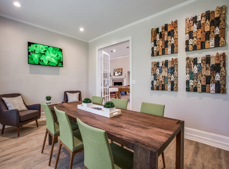 Resident Conference Room at The Giovanna, Plano, Texas