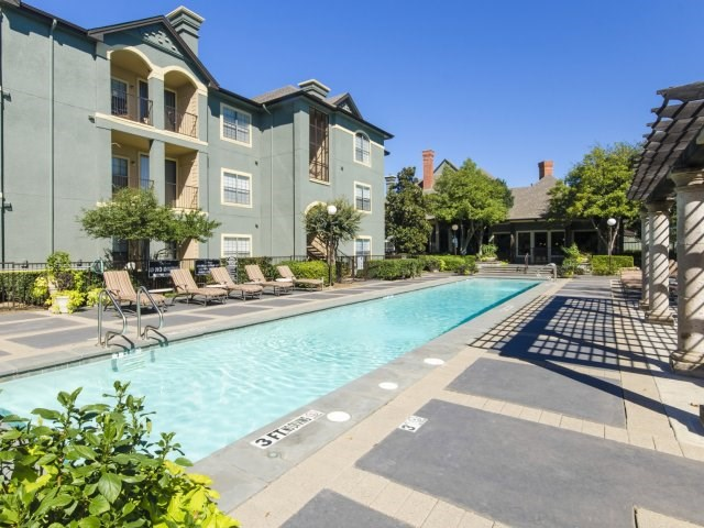 Full Size Swimming Pool at The Giovanna, Plano, TX,75074