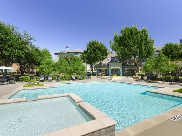 Four Resort Style Pools including Lap Pool at The Giovanna, Plano, 75074