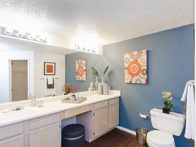 spacious Bathrooms at The Giovanna, Plano, TX,