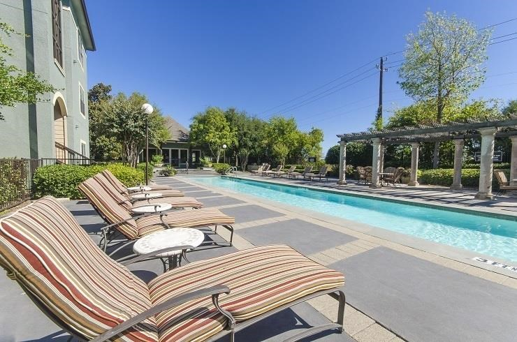 Four Resort Style Pools including Lap Pool at The Giovanna, Plano, TX