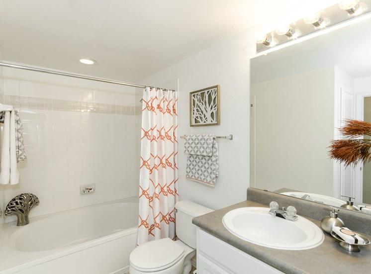 Spacious Bathrooms With Oval Garden Tubs at The Giovanna, 75074