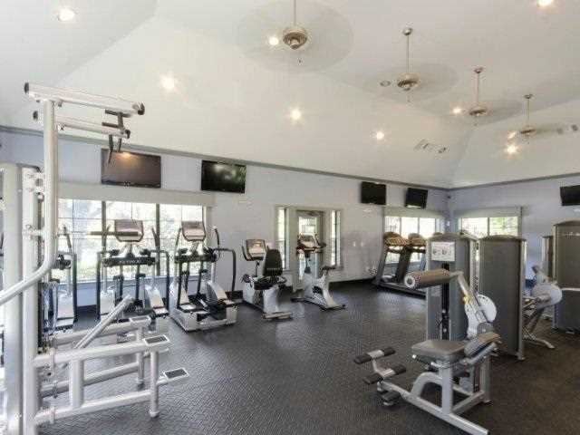 fitness center, The Giovanna, Plano, TX