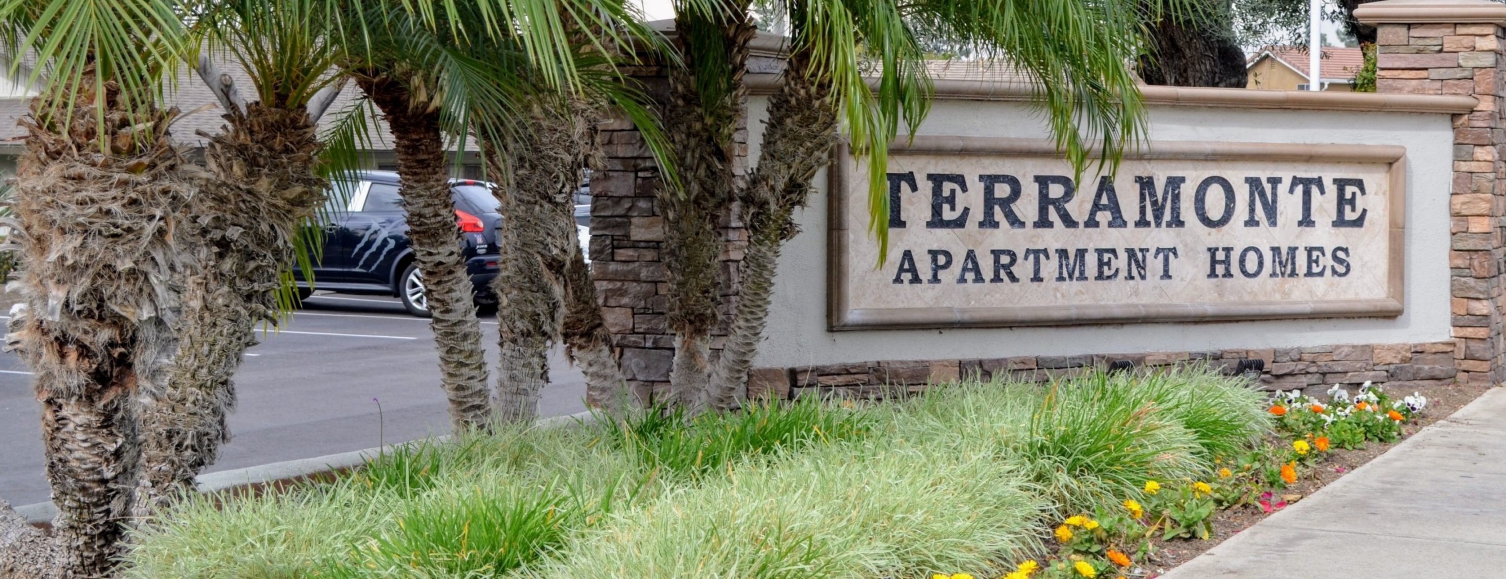 Grand Entrance at Terramonte Apartment Homes, Pomona, California