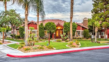 Beautiful Walking trail at St. Lucia Apartments, Las Vegas, NV,89128