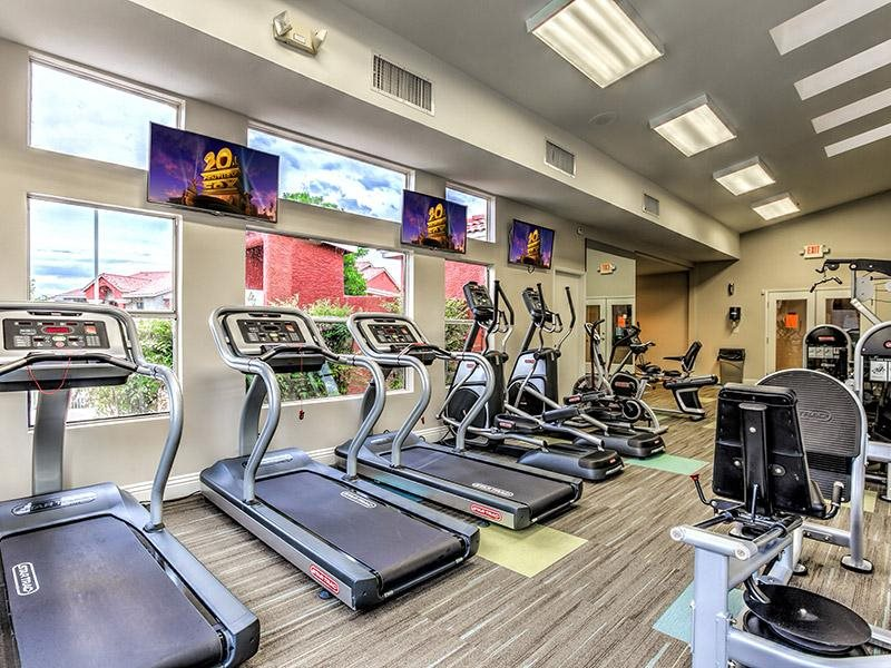 24-Hour Fitness Center at St. Lucia Apartments, Las Vegas, NV,89128