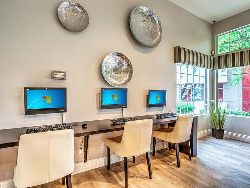 Business Center with WiFi at St. Lucia Apartments, Las Vegas, NV,89128