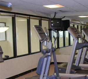 Baystate Place fitness room