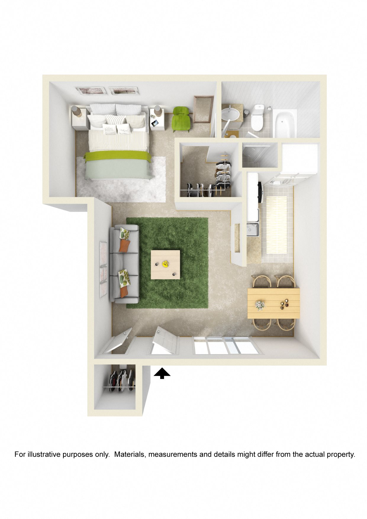 available layouts wichita apartments for rent raintree apartments 1 bed studio floor plan 3