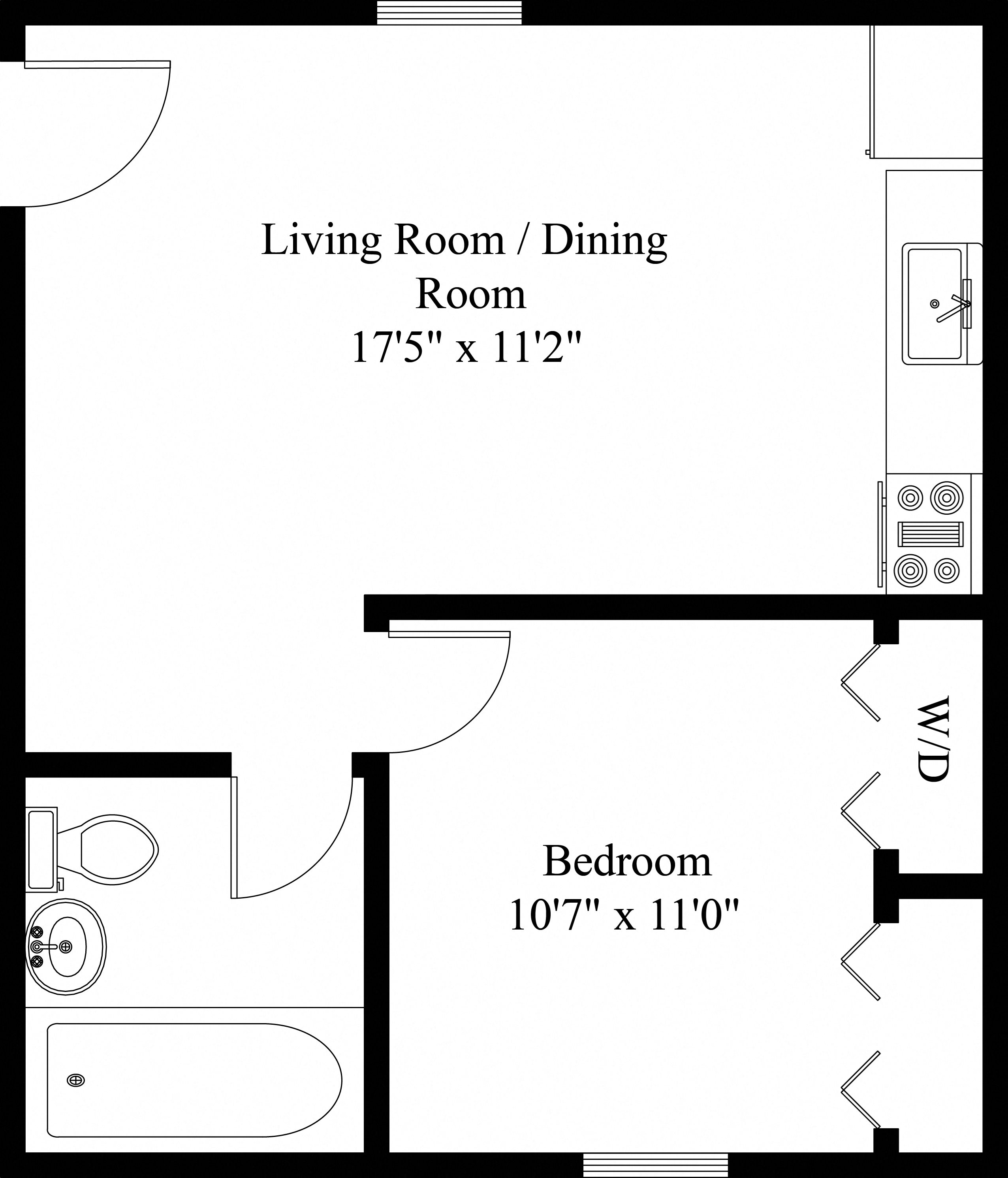 1 & 2 Bedroom Apartments In Manchester, PA