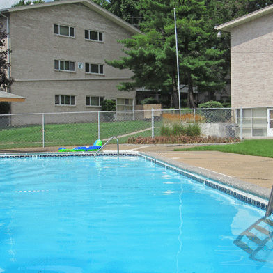 Apartment with a pool in Camp Hill, PA | Long Meadows Apartments | Property Management, Inc.