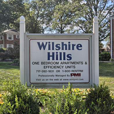 Welcome to Wilshire Hills Apartments in Lancaster, PA | Wilshire Hills Apartments | Property Management, Inc.