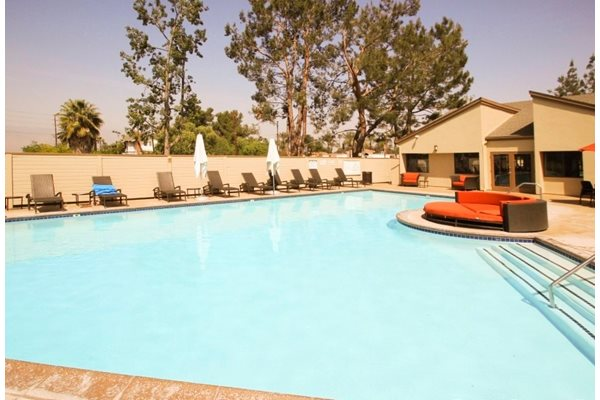 Beautiful Large Swimming Pool at Parkview Terrace, Redlands, CA,92373
