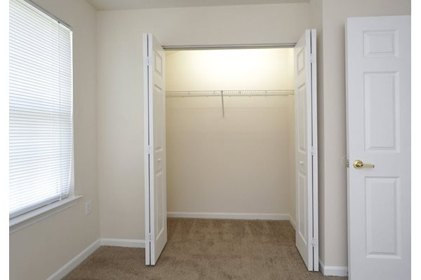 Ample Closet Space