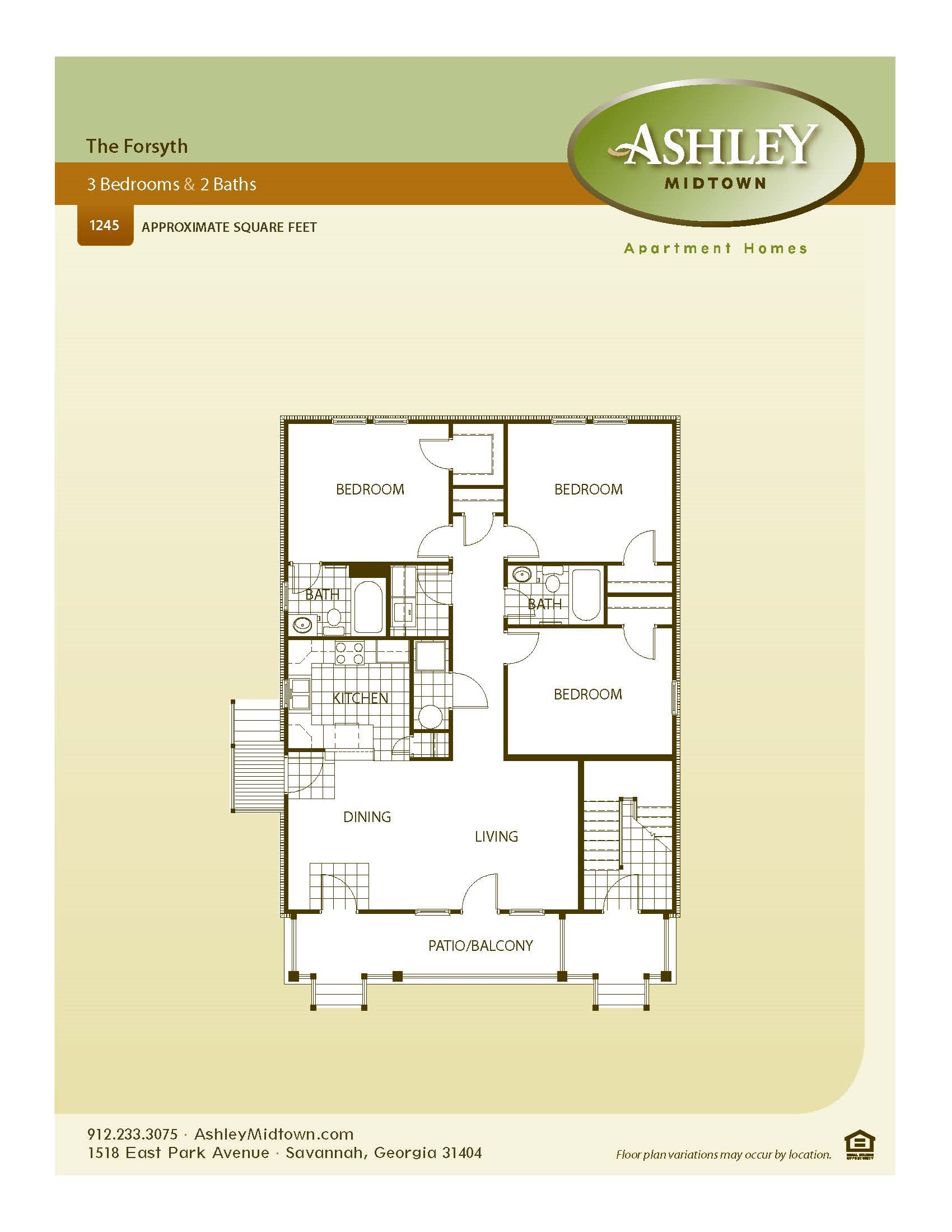 The Forsyth Floor Plan 3