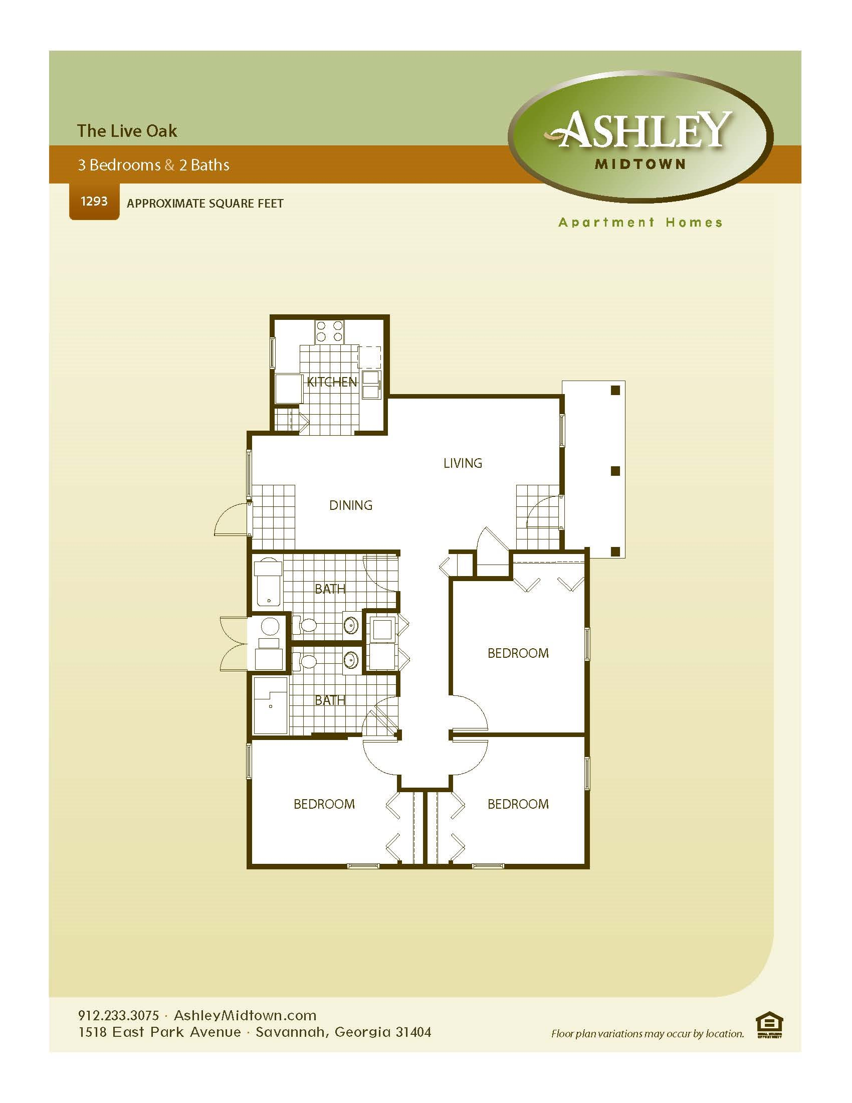 The Live Oak Floor Plan 4