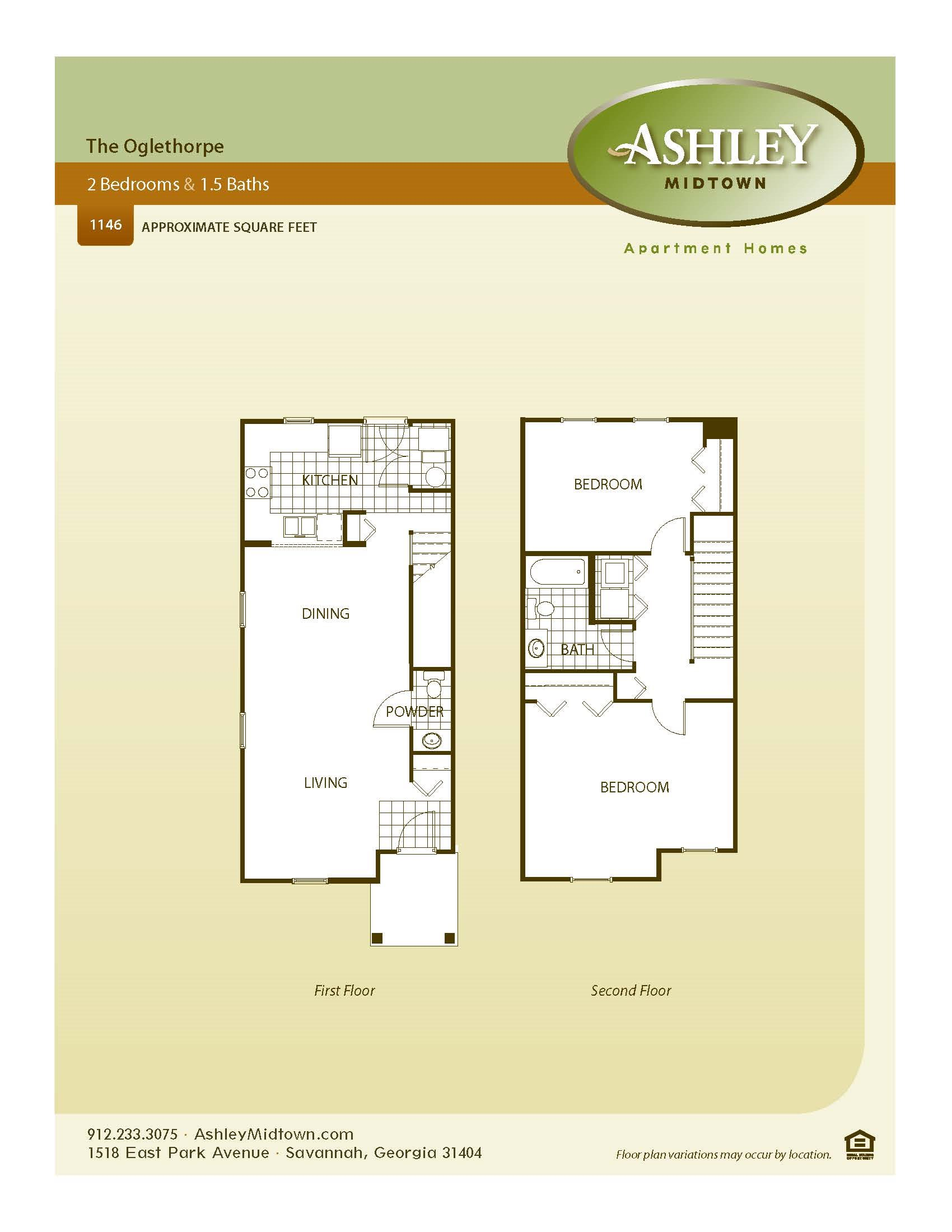 The Oglethorpe Floor Plan 2