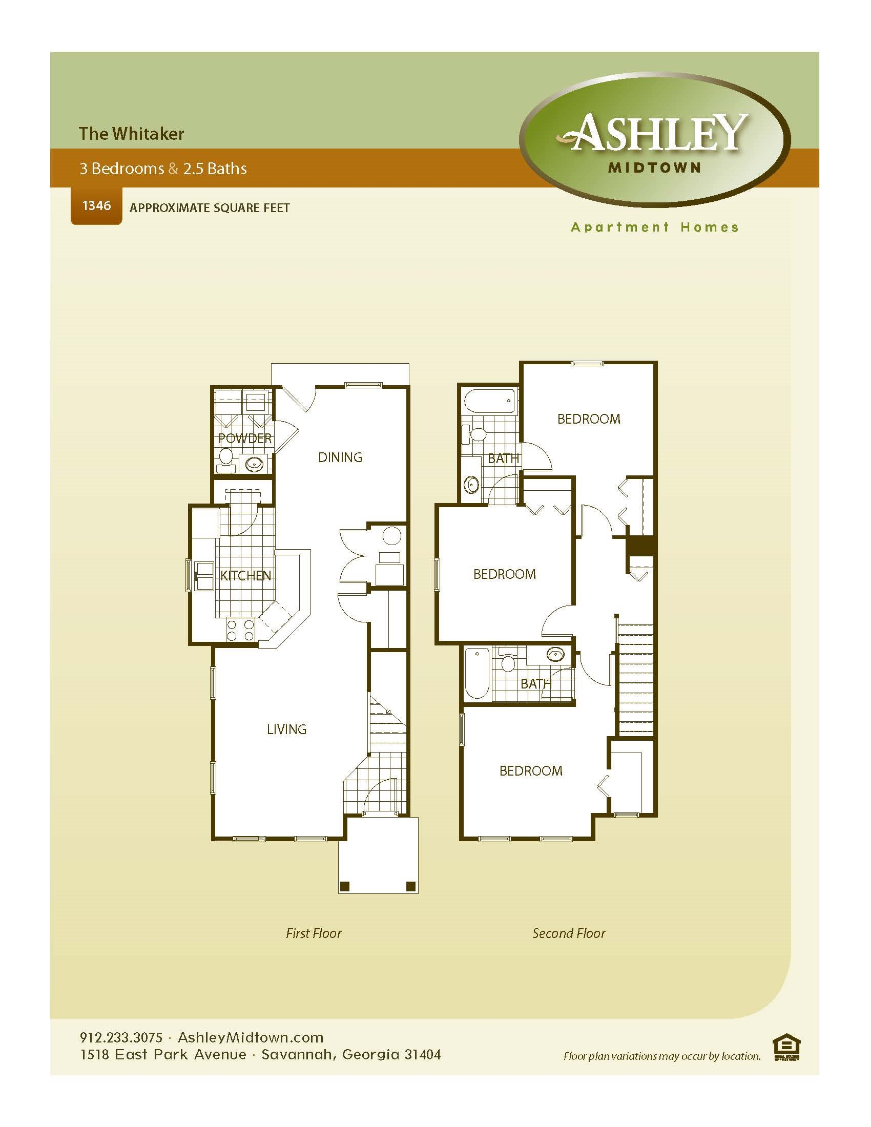 The Whitaker Floor Plan 5