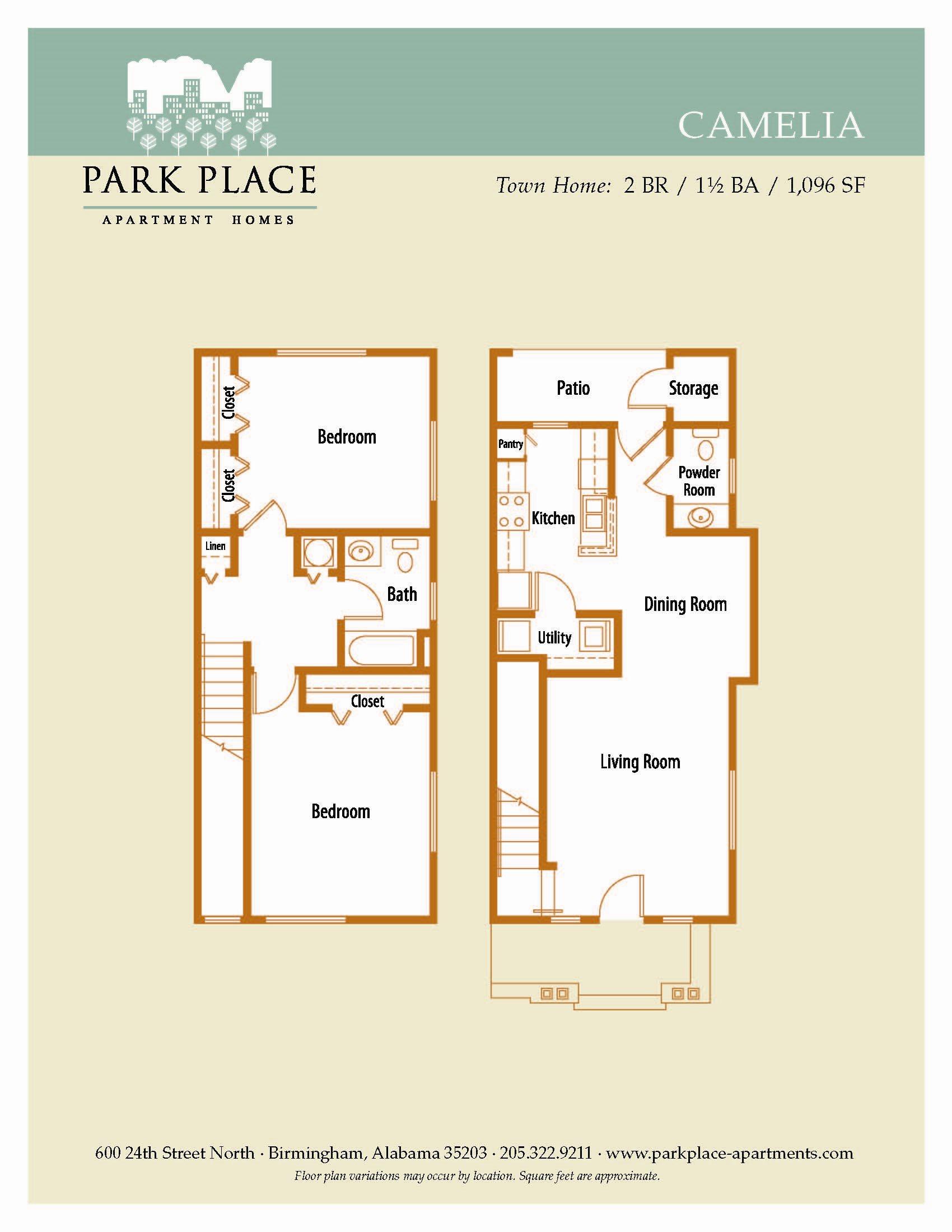 Camelia Floor Plan 7