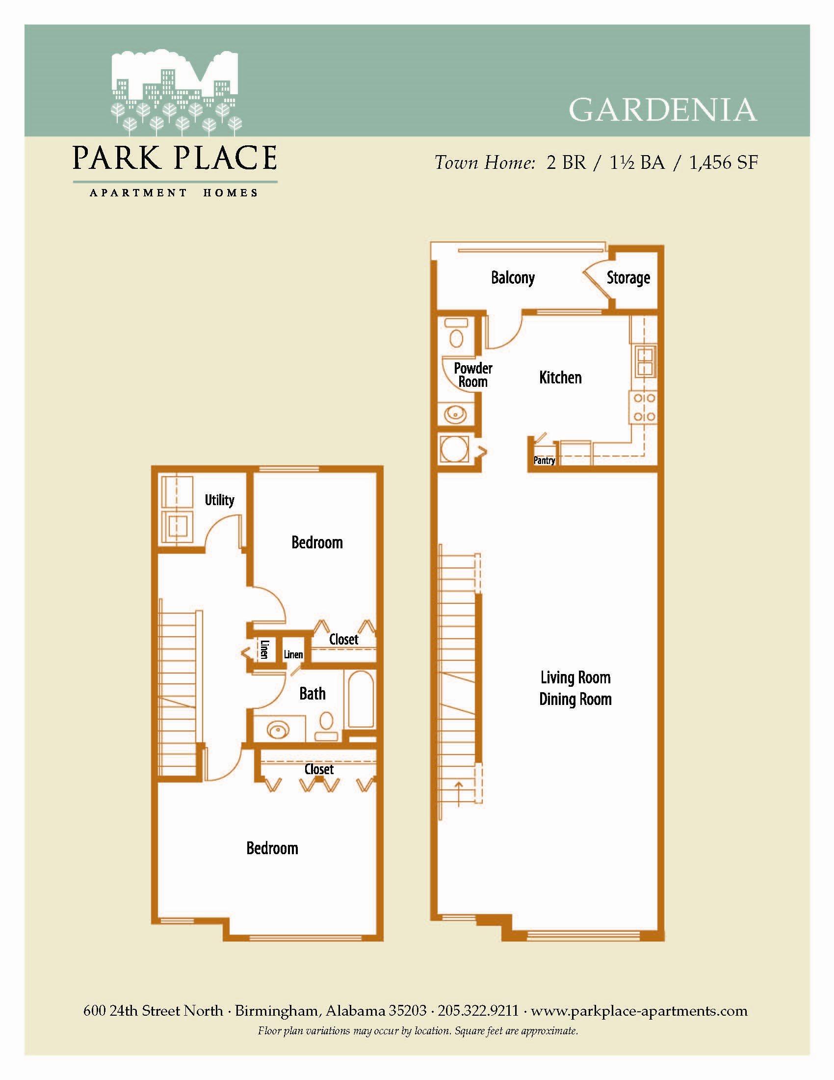 Gardenia Floor Plan 9