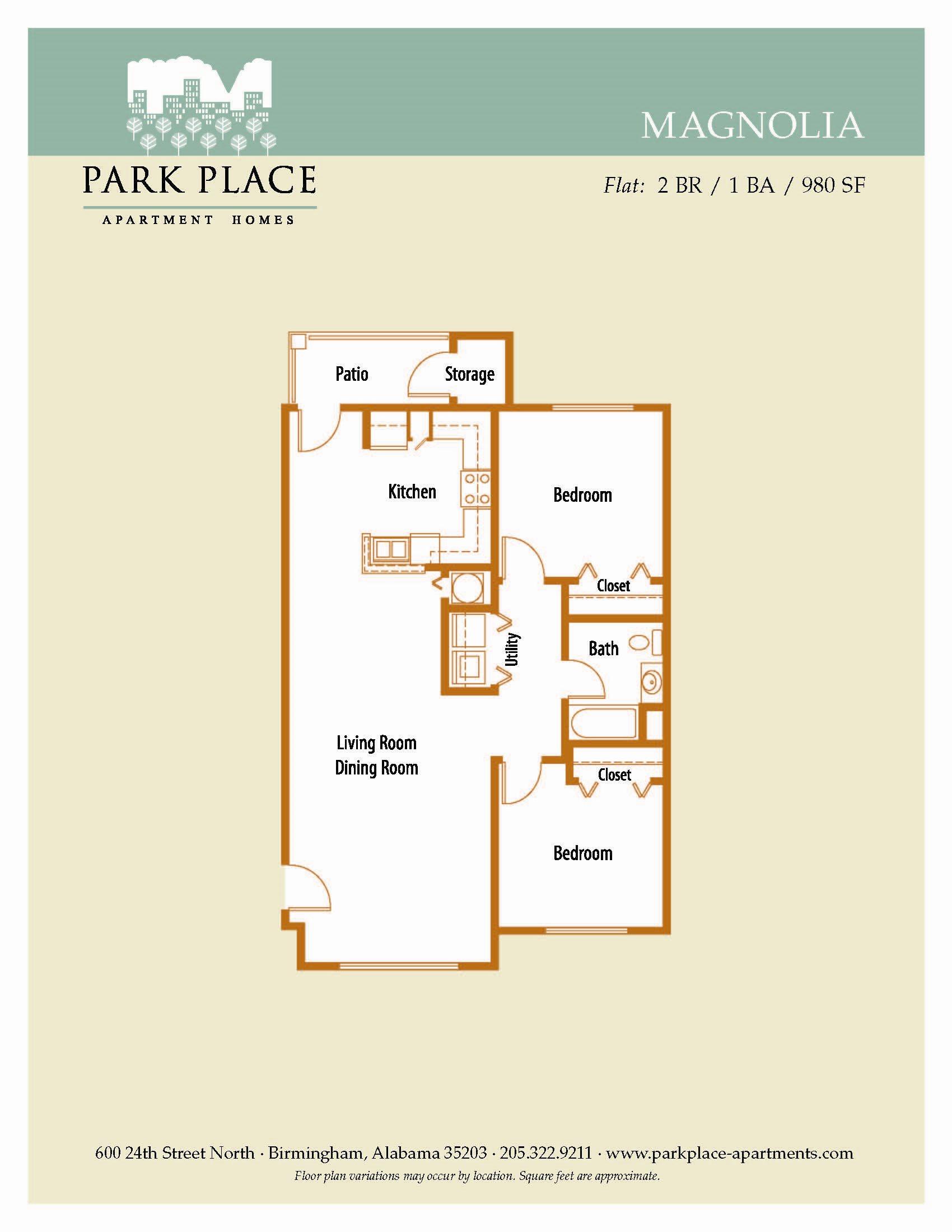 Magnolia Floor Plan 4