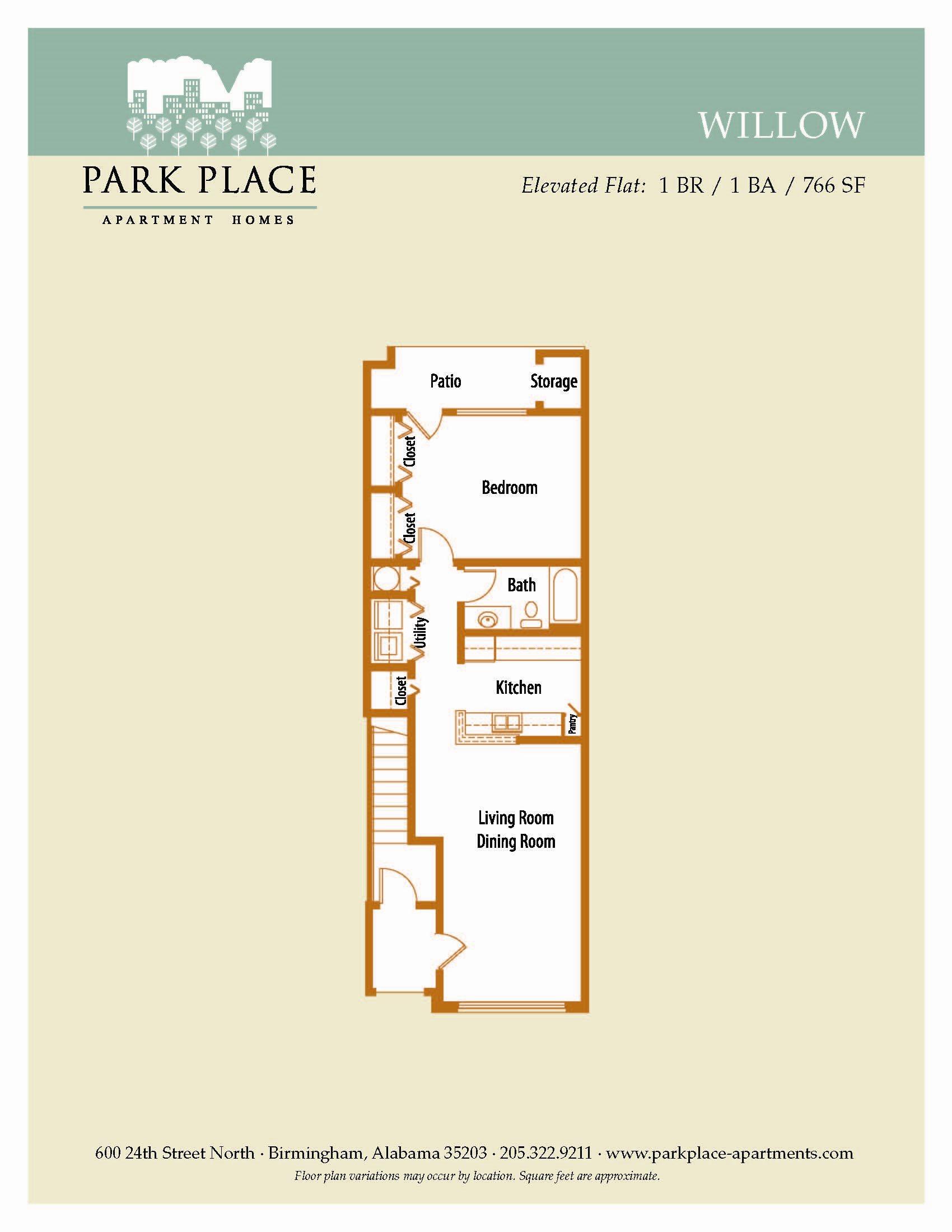 Willow Floor Plan 2