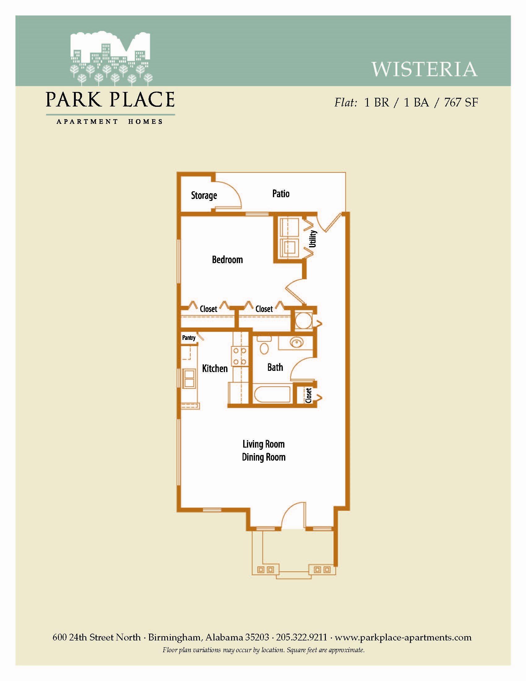 Wisteria Floor Plan 3