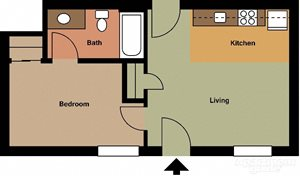 1 Bedroom small