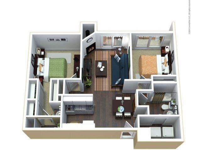 The Lavender Floor Plan 3
