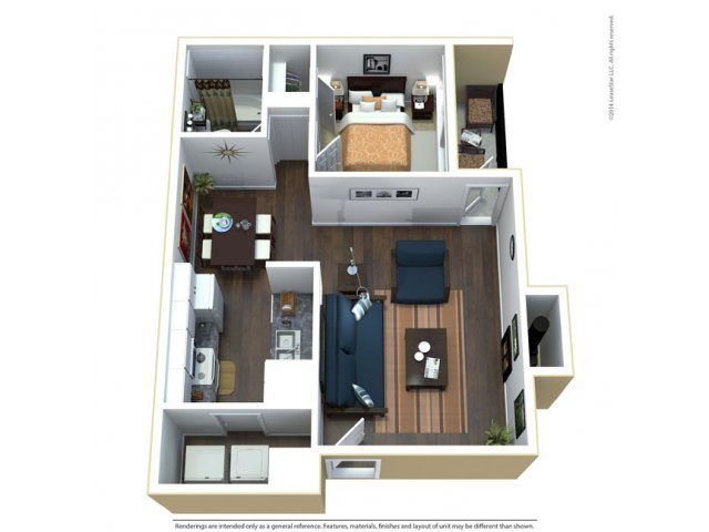 The Orchid Floor Plan 1