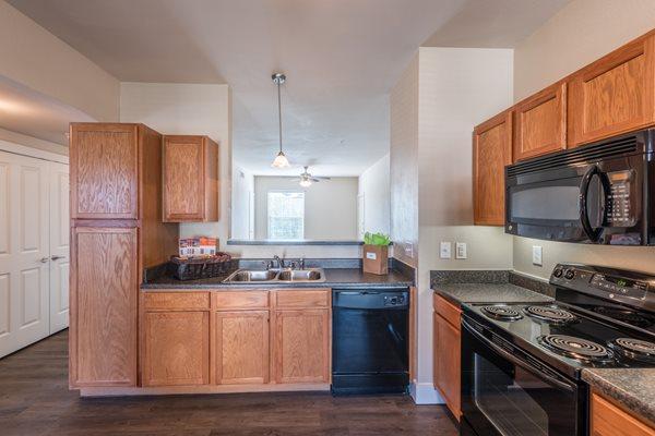 kitchen north austin apartments