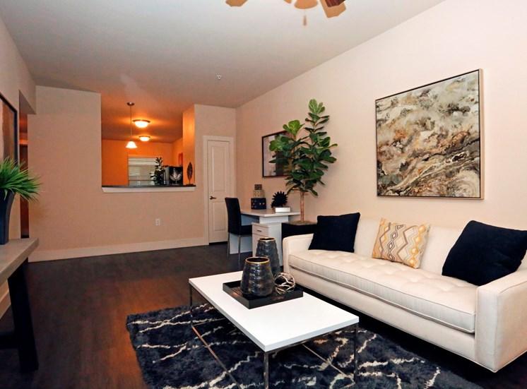 living room north austin apartments