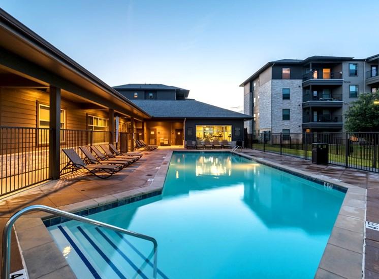 pool north austin apartments