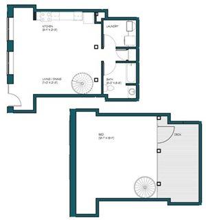 1 Bedroom Loft M.3