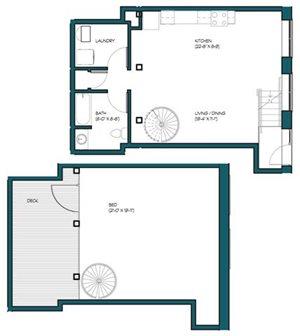 1 Bedroom Loft M.5