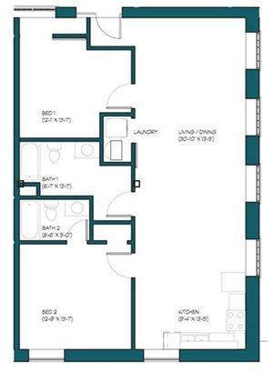 2 Bedroom H.2