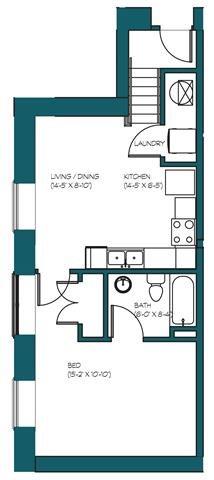 1 Bedroom H.3