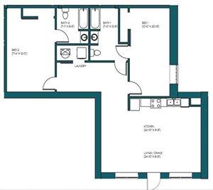2 Bedroom H.4