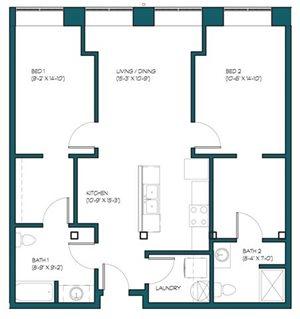 2 Bedroom A.10