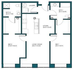 2 Bedroom A.11