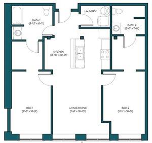 2 Bedroom A.1