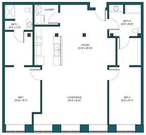 2 Bedroom A.2