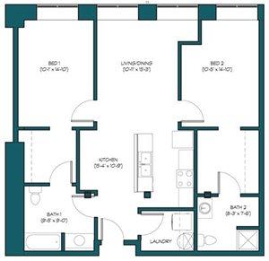 2 Bedroom A.3