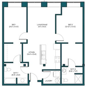 2 Bedroom A.4
