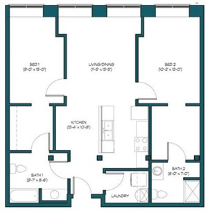 2 Bedroom A.5